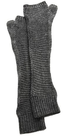 I actually rather like these and the best feature is that these would be super simple to knit yourself.