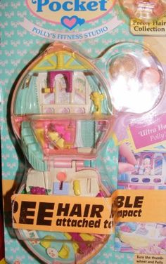 Polly Pocket Fittness Compact Rare (1995) by Bluebird, http://www.amazon.com/dp/B004C34C9G/ref=cm_sw_r_pi_dp_Ax4Nqb1WH91MB