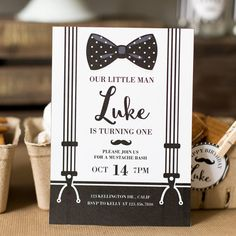 Mustache Invite Mustache Invitation Mustache Party by maydetails
