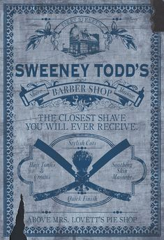 Sweeny Todd movie poster                                                                                                                                                      More