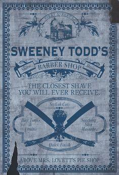 Sweeney Todd: O Barbeiro Demoníaco da Rua Fleet Background Hd Wallpaper, Wallpaper Gallery, Sweeney Todd, Cool Posters, Film Posters, Tim Burton Johnny Depp, Fleet Street, Star Wars, Alternative Movie Posters