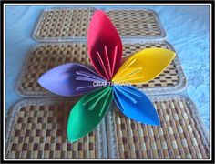 Fun and easy paper flower for the grade schooler