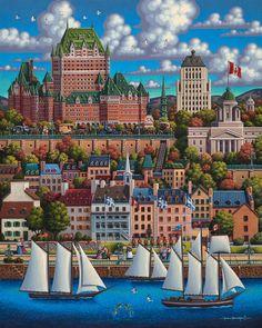 *Quebec City by Eric Dowdle*.               Je me Souviens