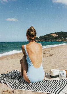 ➫ ➫-ʜᴇʏ ʜᴇʏs, ғᴏʟʟᴏᴡ ғᴏʟʟᴏᴡ ᴛʜᴇ á á - Badeanzug - Badebekleidung - Bikini - Beach Pink, Beach Babe, Girl Beach, Summer Feeling, Summer Vibes, Travel Outfit Summer, Summer Outfits, Trendy Mood, Trendy Style