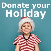You can donate your holiday to help BBBS kids -- and make a BIG difference. Instead of gifts this year, ask your friends and family to donate to your personal page, and help support kids in our community! Your generosity will change lives for the better, forever. Learn more at: http://www.stayclassy.org/events/detail?eid=28302