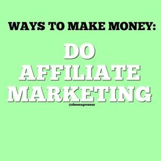 Way No 1 - Do Affiliate Marketing  What is Affiliate Marketing?  Affiliate marketing is a type of erformance-based marketing in which a business rewards a certain percentage of commission for each product bought by the customers who are brought by the aff