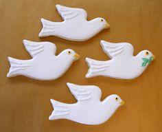 Dove Sugar Cookies