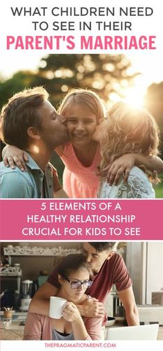 Five essentials to modeling a healthy relationship for your kids. Healthy marriage will help children understand how to have a healthy relationship, communicate with friends and husband and qualities that make up a strong marriage to have in their own relationships throughout life. A Healthy Marriage that's modeled for kids to see will set the tone for their own relationships in life. fight fair in front of your kids and teach communication #healthymarriage #relationshipgoals #happymarriage