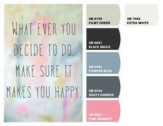 Positive Quote Color Palette
