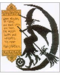 Cross Stitch Craze: Halloween Cross Stitch