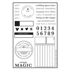 Simply Magic Stamp Set