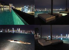Marina Bay Sands Hotel. *Singapore. I need to visit this place in this exact hotel. so awesome