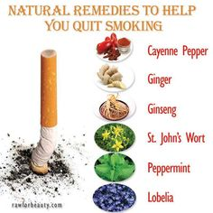 Natural remedies to help you quite smoking