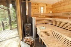 Sunhouse modern sauna. www.sunhouse.fi