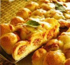 Receita de Pizza em Bolinhas