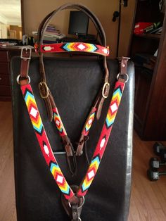 Beaded Horse Tack by BearClanApparel on Etsy, $450.00