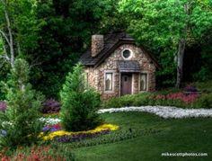 Fairy Tale Cottage House Vacation Interior Design
