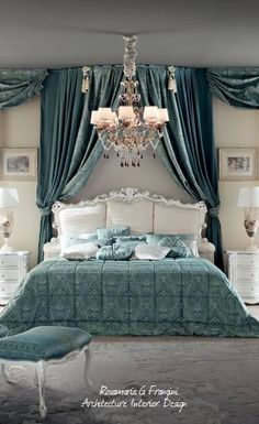 How to make your master bedroom look modern and luxury? Here our team provides some master bedroom inspiration that is not only comfortable, but also looks modern so you don't get bored. Trendy Bedroom, Modern Bedroom, Bedroom Decor, Lux Bedroom, Bedroom Ideas, Luxury Bedding Collections, Luxury Bedding Sets, Dressing Design, Bed Linen Design