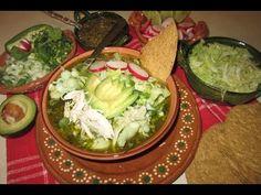 ▶ RECETA DE POZOLE VERDE A MI ESTILO - COMIDA MEXICANA alelimada. - YouTube