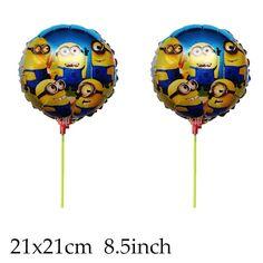 Balão Minions metalizado