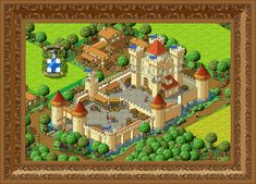 Hi! I'm new on deviant art and this is my first submission. It's a big pixel art showing a medieval castle with some little pixel details. It took me 70 hours of work in photoshop. Comments are wel...