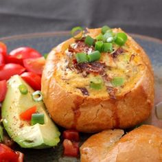 Bacon, Egg, and Cheese-Stuffed Loaf