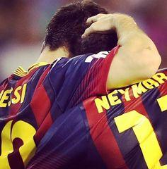 Messi and Neymar  FC Barcelona