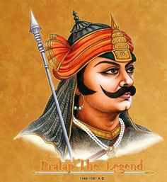 Maharana Pratap - The King of Mewar in Rajasthan, defended India against the Islam Invasion by Akbar. He exemplified the qualities like bravery and chivalry to which Rajputs aspire. King Of India, Indian Freedom Fighters, Famous Dialogues, Warriors Wallpaper, Shiva Wallpaper, Lord Shiva Hd Images, Lord Krishna Wallpapers, Hd Wallpapers 1080p, Great Warriors
