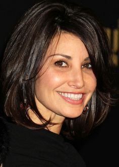 Short bob hairstyle with layers