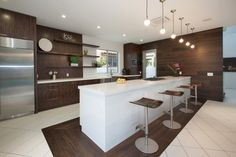 Modern Kitchen at Colgate in West Hollywood By Boswell Construction #buildboswell