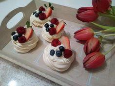 Recept na Pavlovu tortu/ Pavlove mini tortičky