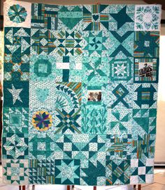 Ovarian Cancer Awareness quilt