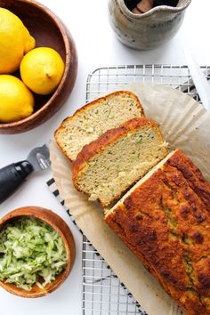 Paleo Lemon and Olive Oil Bread