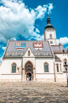 Wat er allemaal te doen is in Zagreb, de hoofdstad van Kroatië leed je in mijn lijstje met de 10 leukste dingen om te doen in Zagreb! Mansions, House Styles, Travel, Viajes, Manor Houses, Villas, Mansion, Destinations, Traveling
