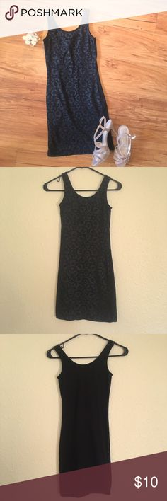 H&M Black Leopard Print Body Con Mini Dress EUC cute h&m dress. the tag says size 4 but it is a body con style dress so it fits TIGHT so keep that in mind when purchasing. I'm 5'3 and the length hits about mid thigh for me.   Laid out flat bust is about 11.5 in across and length is about 26 in from top of straps to bottom hem.   ⭐️Sorry I don't do any trades.  ⭐️ I'm always open to reasonable offers.  ⭐️ Bundle 2 or more items to save! H&M Dresses Mini