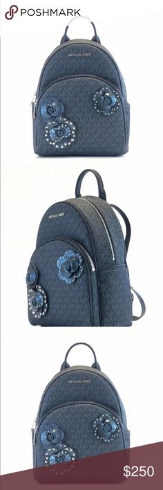 e321e5ceaf6f Michael Kors Abbey medium signature backpack Up For Sale is one Brand New  Women's Michael Kors