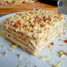 Pie Dessert, Cookie Desserts, Just Desserts, Keto Desserts, Keto Sweet Snacks, Sweet Treats, German Desserts, Hazelnut Cake, Paleo Baking