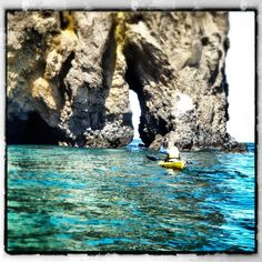 Sea kayaking through the Channel Islands in Santa Barbara! See more SB photos: http://instagram.com/visitsantabarbara