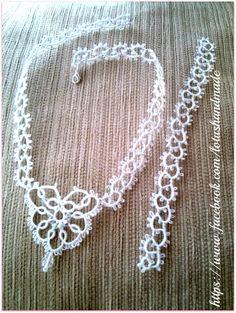 Wedding necklace di Artlotushandmade su Etsy, €45.00
