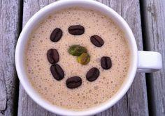 Pistachio Coconut Cappuccino