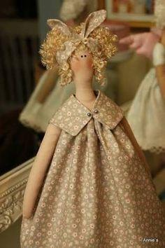 Image result for Beautiful Tilda dolls