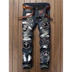 SHARE & Get it FREE | Painted Distress Embroidery JeansFor Fashion Lovers only:80,000+ Items·FREE SHIPPING Join Dresslily: Get YOUR $50 NOW!