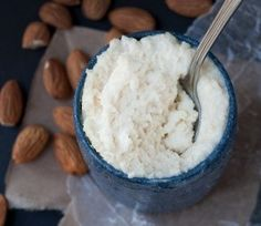 No soaking or blender Ricotta-style Almond Cheese