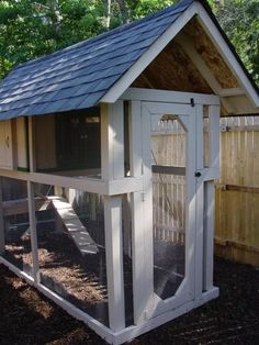 Plans For A Chicken Coop For 12 Chickens & Hen House Plans ...