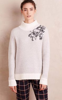 Embroidered Mosippa Pullover #anthrofave