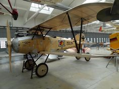 Subject: Albatros D3  Location: Deutches Museum, near Munich, Germany, 2012.   Comments: The Albatros D.III  was a biplane fighter aircraft ...