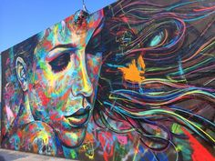 Street Art by David Walker in Miami, USA ~ via streetartutopia.com