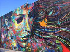 Street art. By David Walker in Miami, Florida