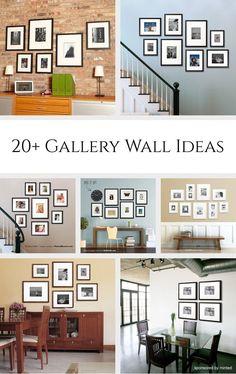 20 Gallery Wall Ideas