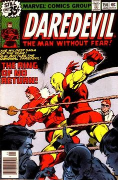 Daredevil no156 by Gene Colan & Joe Rubinstein